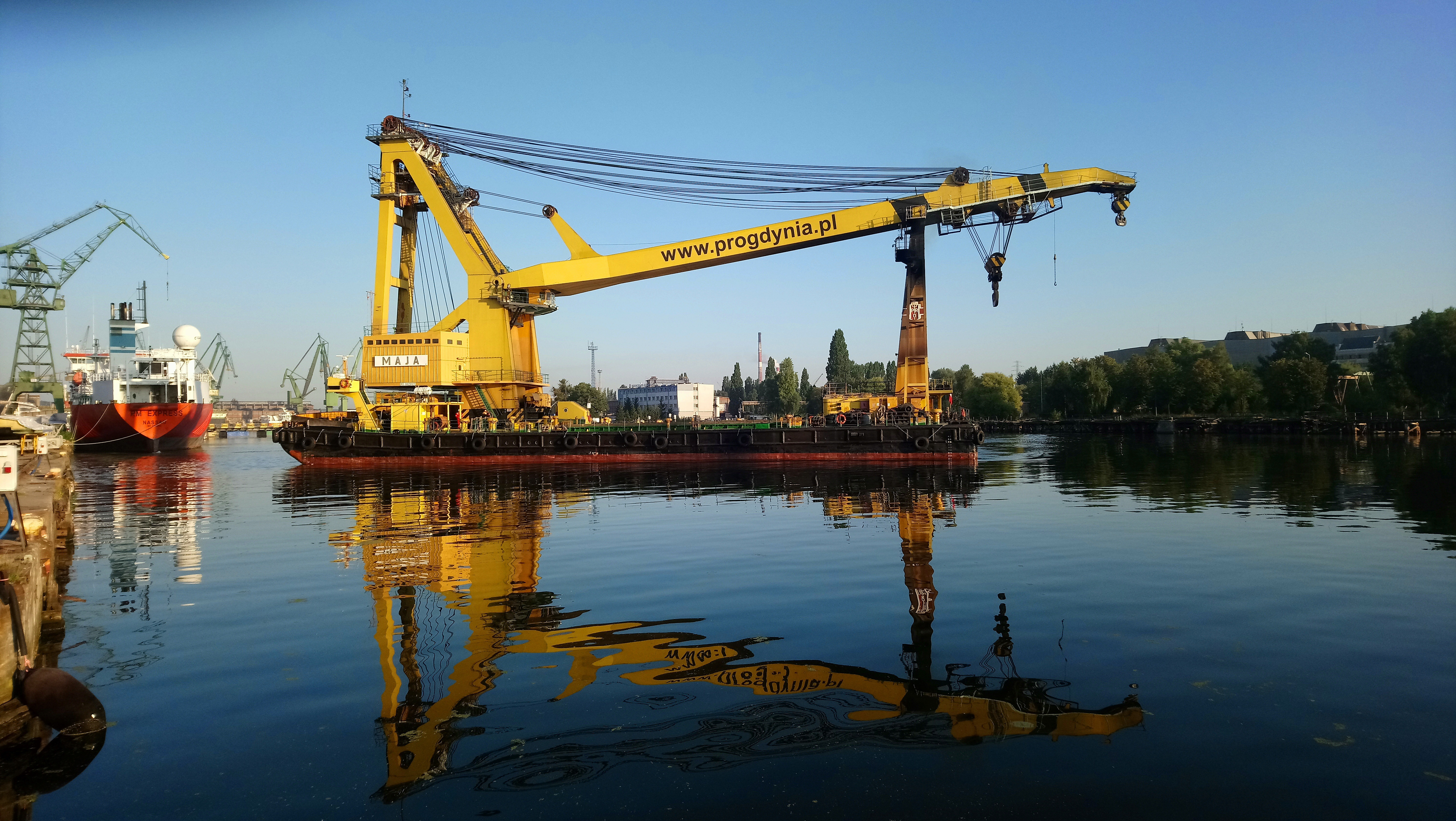 Maja - stocznia gdanska 26.08.2019